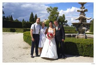 s Pavlíkem a Věrkou (ten nás fotil)