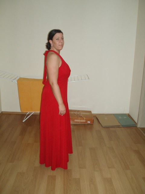 Pripravy - popolnočne šaty