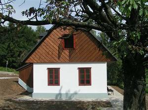 Novostavba staré chaloupky - Vysočina