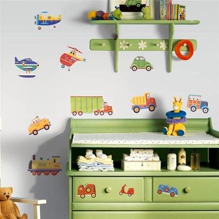 Autíčkový pokoj pro syna - Obrázek č. 4