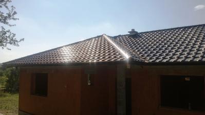 Naša krásna strecha bola hotová za necelých 6 dní !!