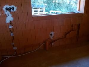 okno v kuchyni a elektrika ..