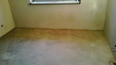 podlahy hotovéé :)