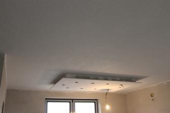 01.02.14 ... hotový strop v kuchyni ...