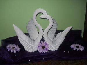 planovala som ich no nevedela som či sa mi to podarí... ale sú dokonalé.... svadobné labute :)