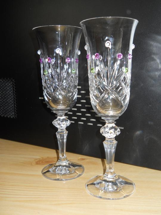 Čo už máme!? - naše krásne svadobné poháre...