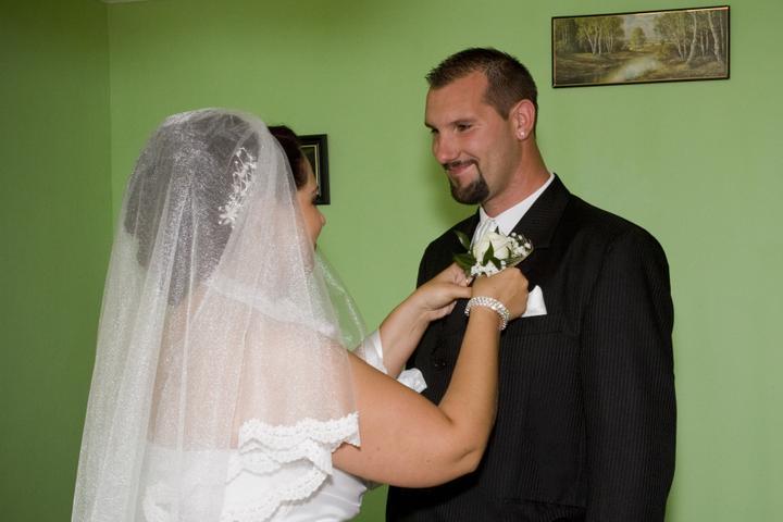 Lenka{{_AND_}}Peter - pohľad môjho manžela na tejto fotke milujem... ako mi neskôr povedal, stratil som reč...