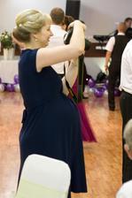 najmladší člen na našej svadbe... malý Janík...