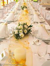 ikebany na stoly