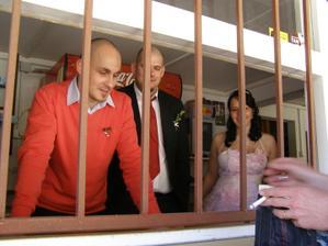vykupování nevěsty:-)