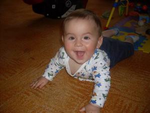 dnes již náš 8 měsíční chlapeček:-)
