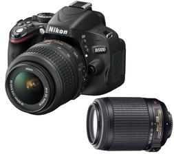 Nikon D5100 + objektivy 18-55 AF-S DX VR + 55-200 AF-S VR