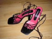 Cierne sandalky, 36