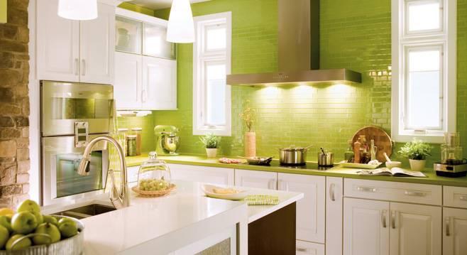 Zelená, kam sa pozrieš - stále decentne a vkusne - Obrázok č. 31