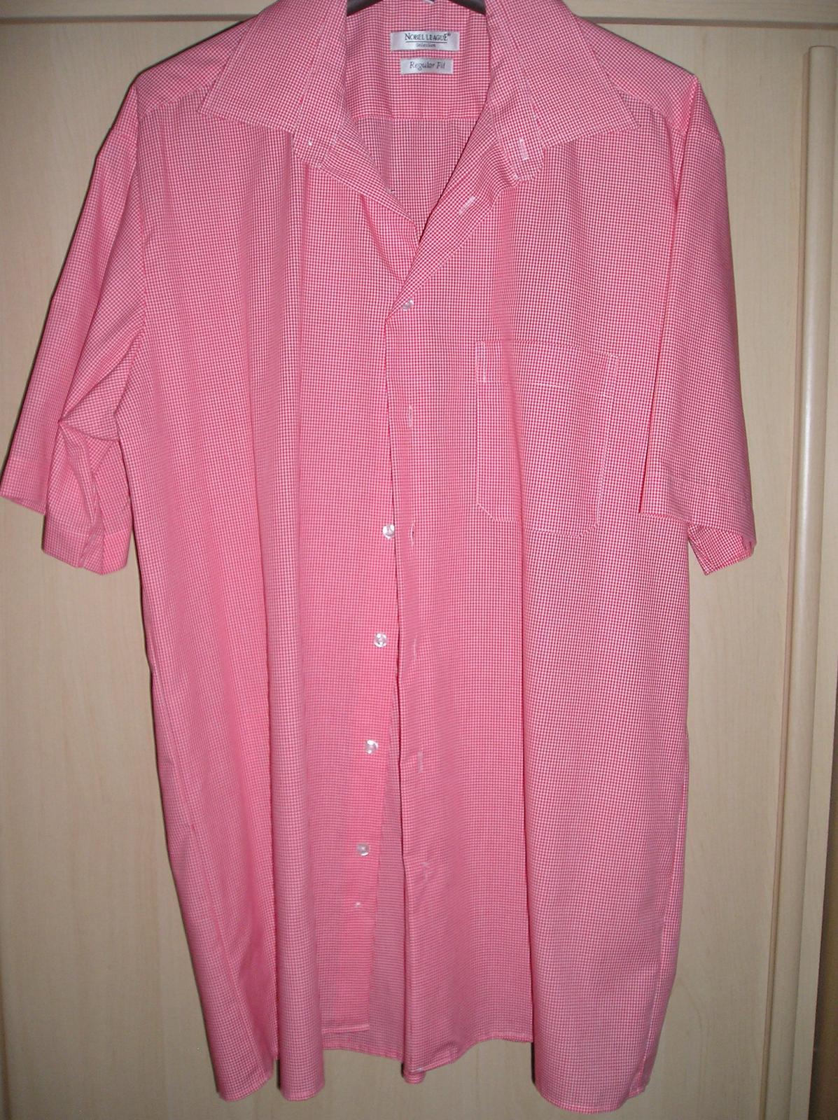 Nenosená košeľa krátky rukáv - Obrázok č. 2