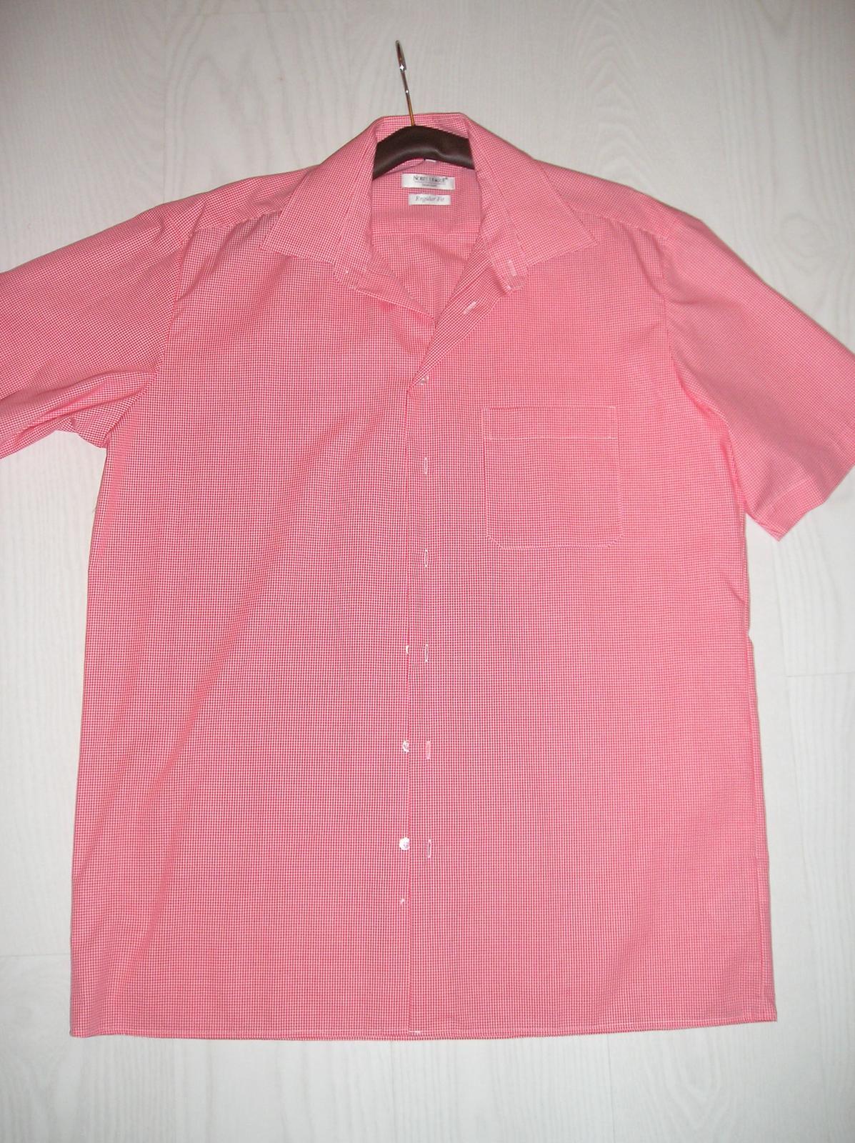 Nenosená košeľa krátky rukáv - Obrázok č. 1