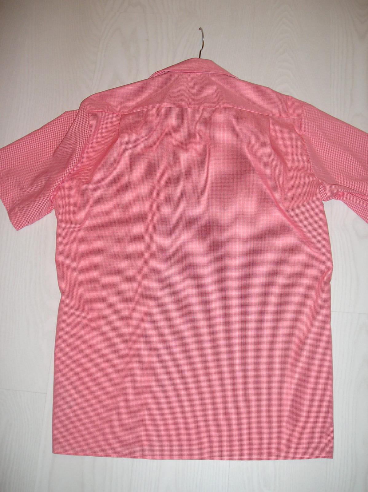Nenosená košeľa krátky rukáv - Obrázok č. 3
