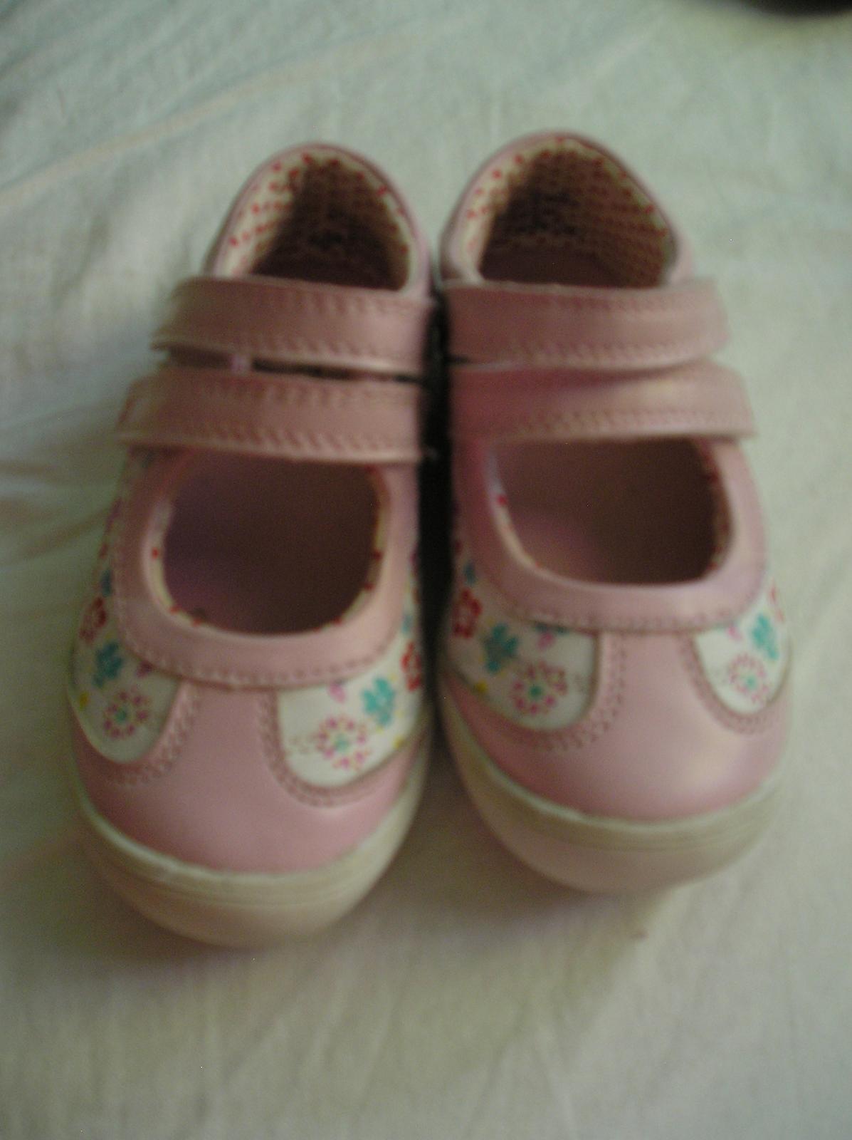 Kvetinkové topánky na dva suché zipsy - Obrázok č. 2