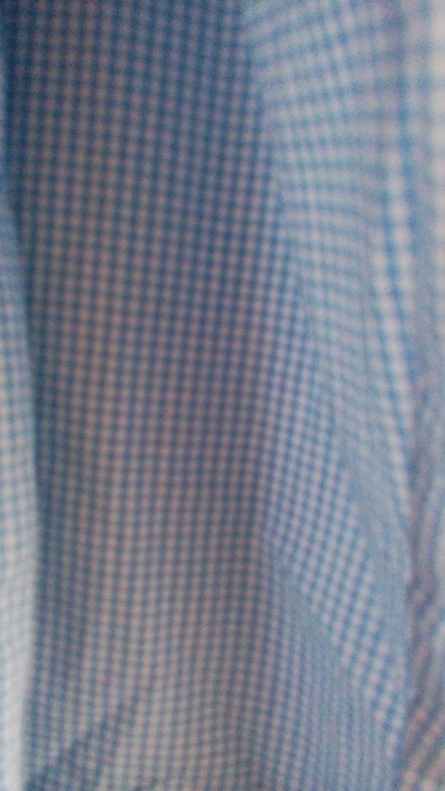 Nenosena bledomodro-biels košeľa s poštovným - Obrázok č. 3