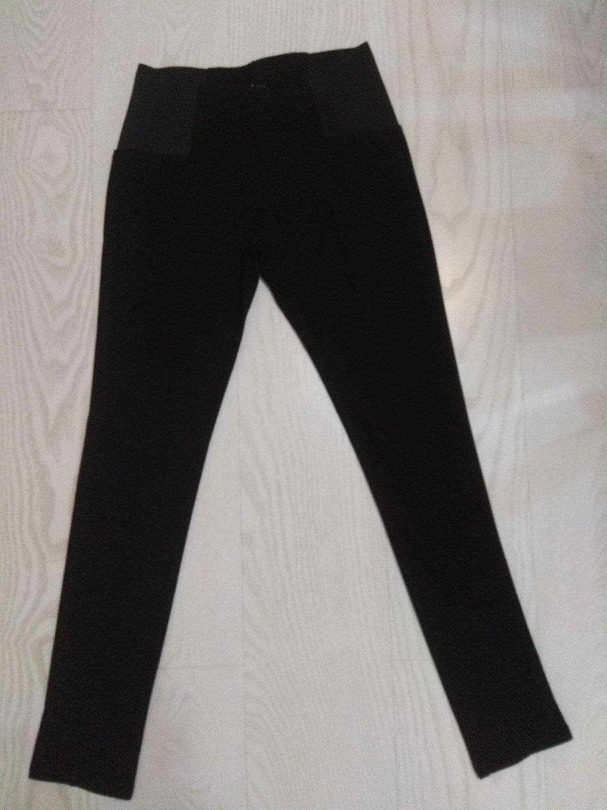 Čierne moderné nohavice - Obrázok č. 1