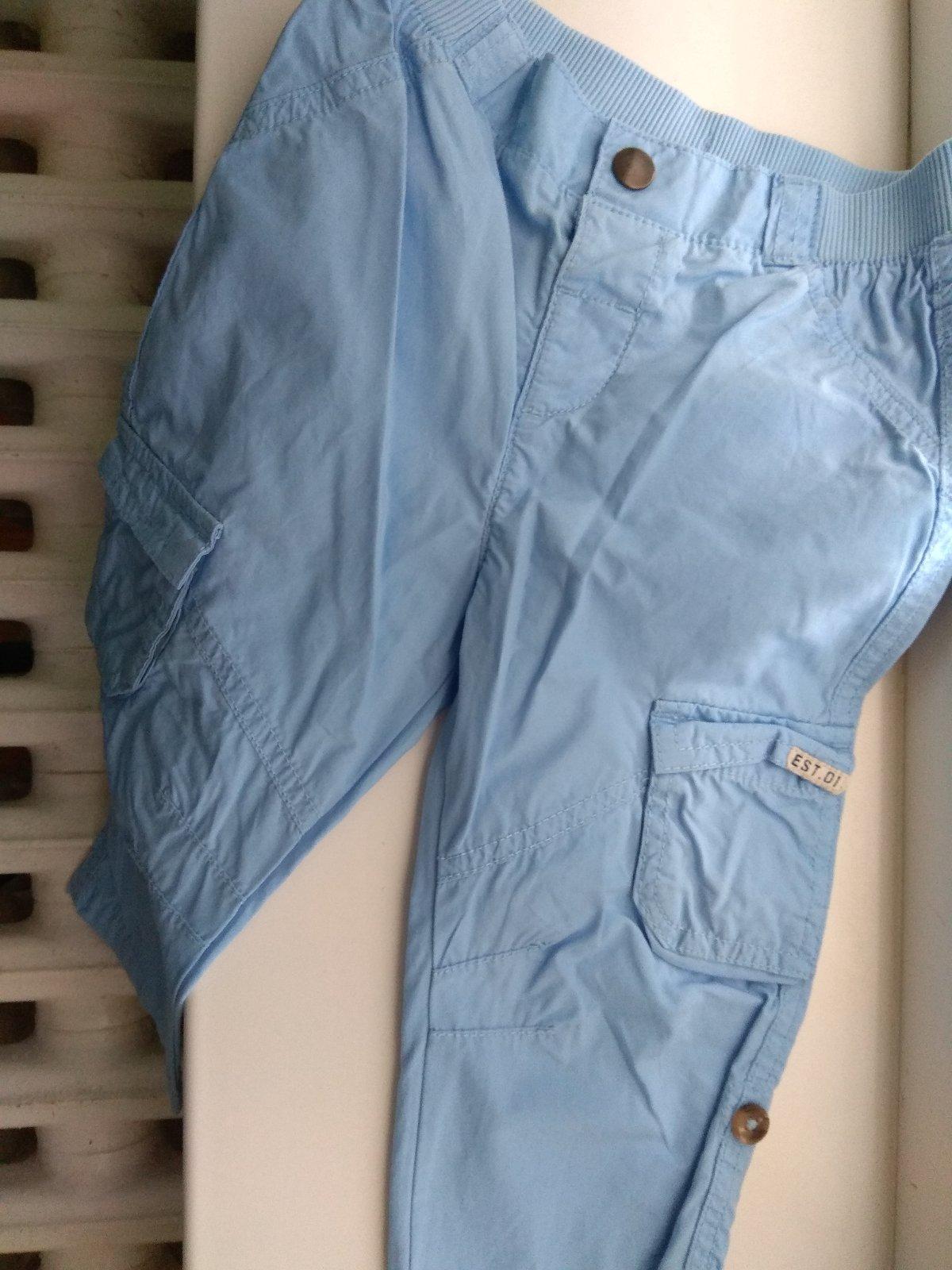 Modré tenké nohavice - Obrázok č. 1
