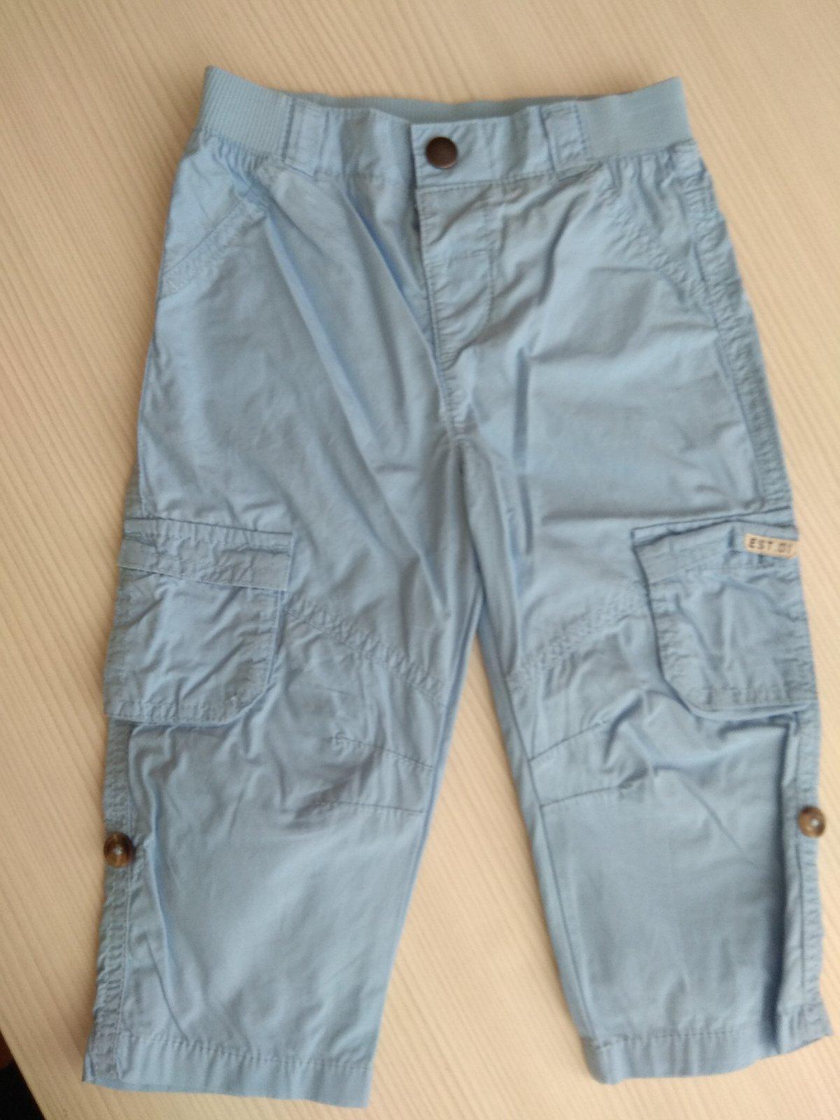 Modré tenké nohavice - Obrázok č. 2