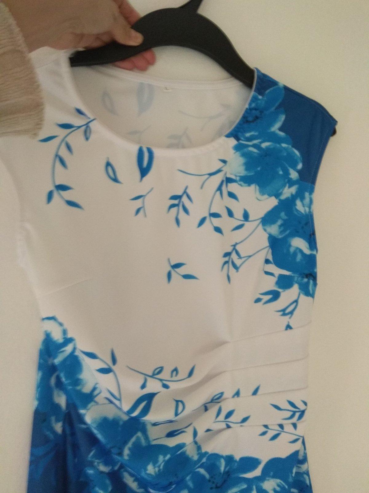 Modro biele šaty - Obrázok č. 4