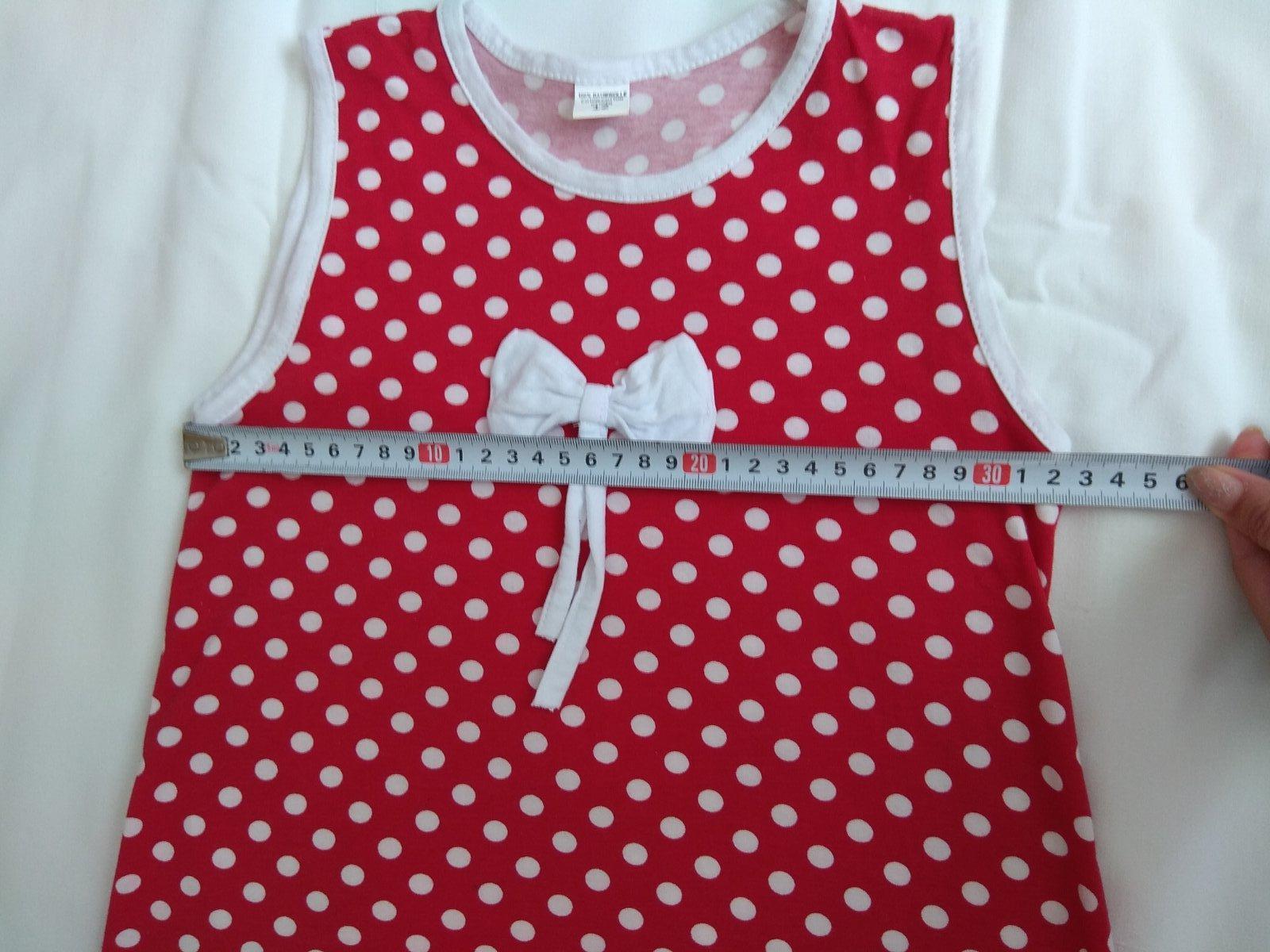 Červená šaty s bielymi bodkami - Obrázok č. 2
