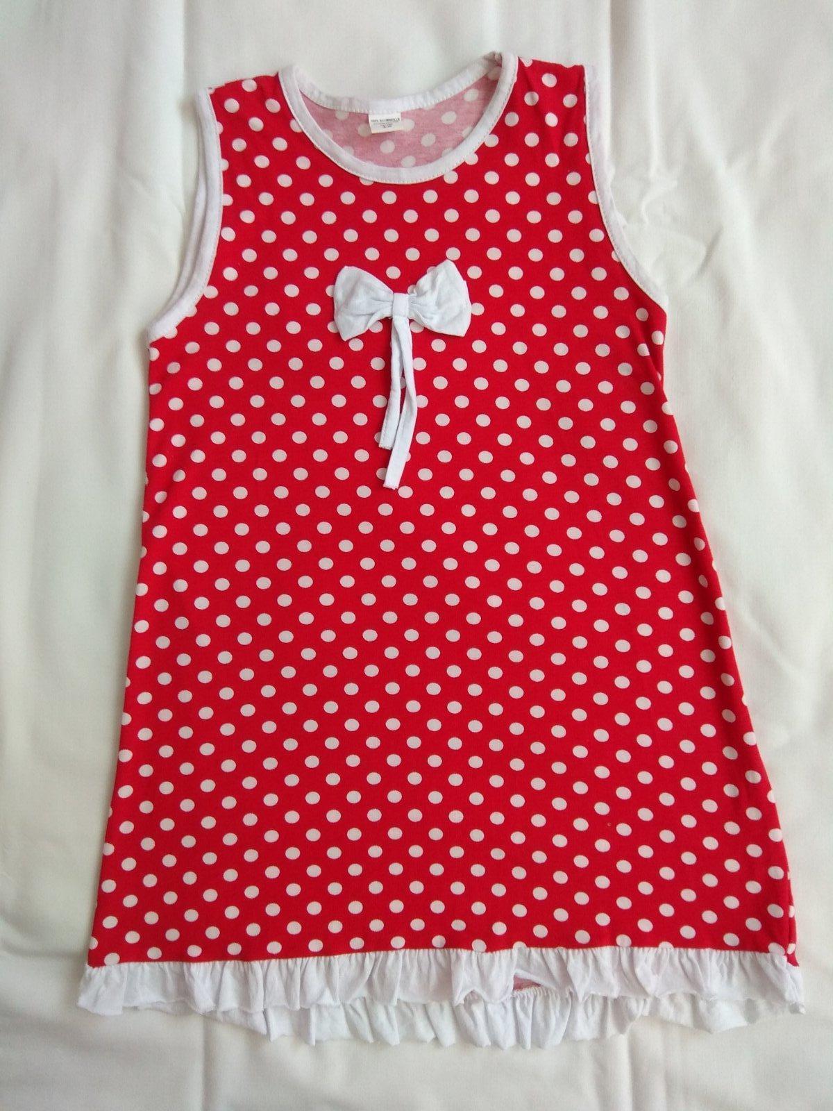 Červená šaty s bielymi bodkami - Obrázok č. 1