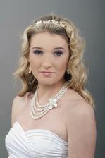takhle vypadá náhrdelník na nevěstě