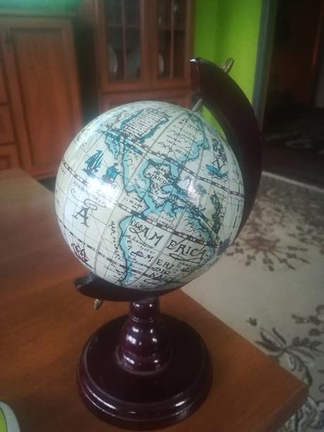 mensi model globusu - Obrázok č. 1