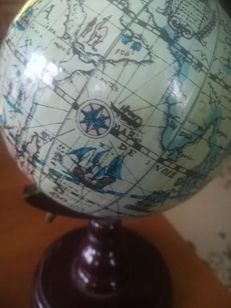 mensi model globusu - Obrázok č. 3