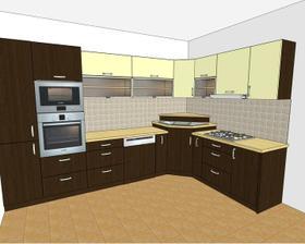 návrh kuchyne - už objednaná veľmi dobrá firma....vrelo odporúčam!