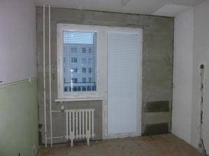 kuchyňa a balkón