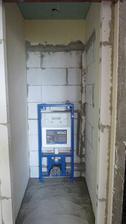 nové WC v bývalej chodbičke