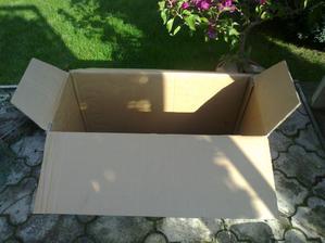 Pripravime si dostatocne velku krabicu