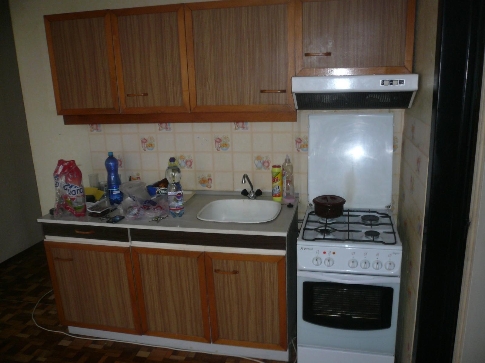 Prerábka bytu - kuchyňa