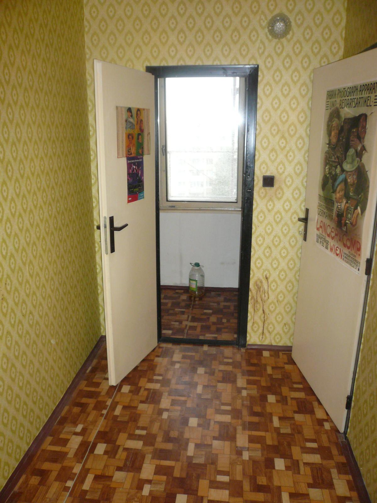 Prerábka bytu - špajza plus mini špajza