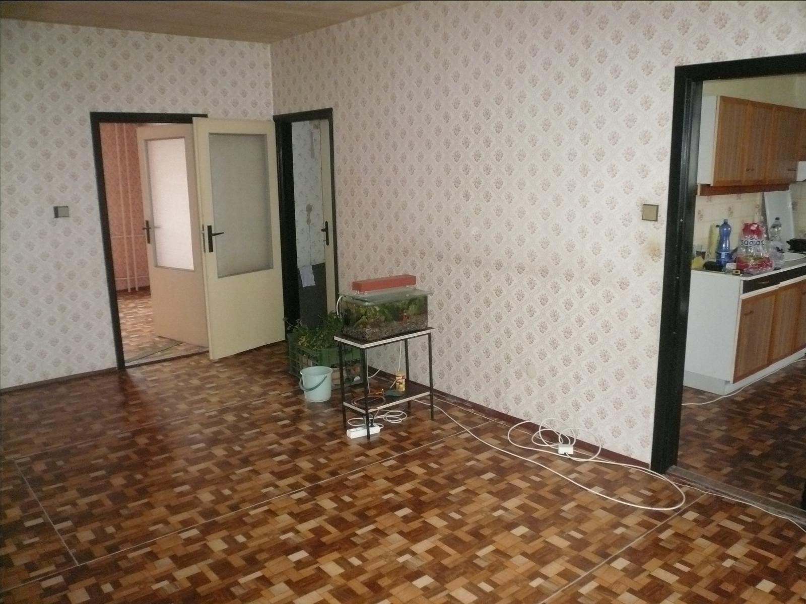 Prerábka bytu - obývačka