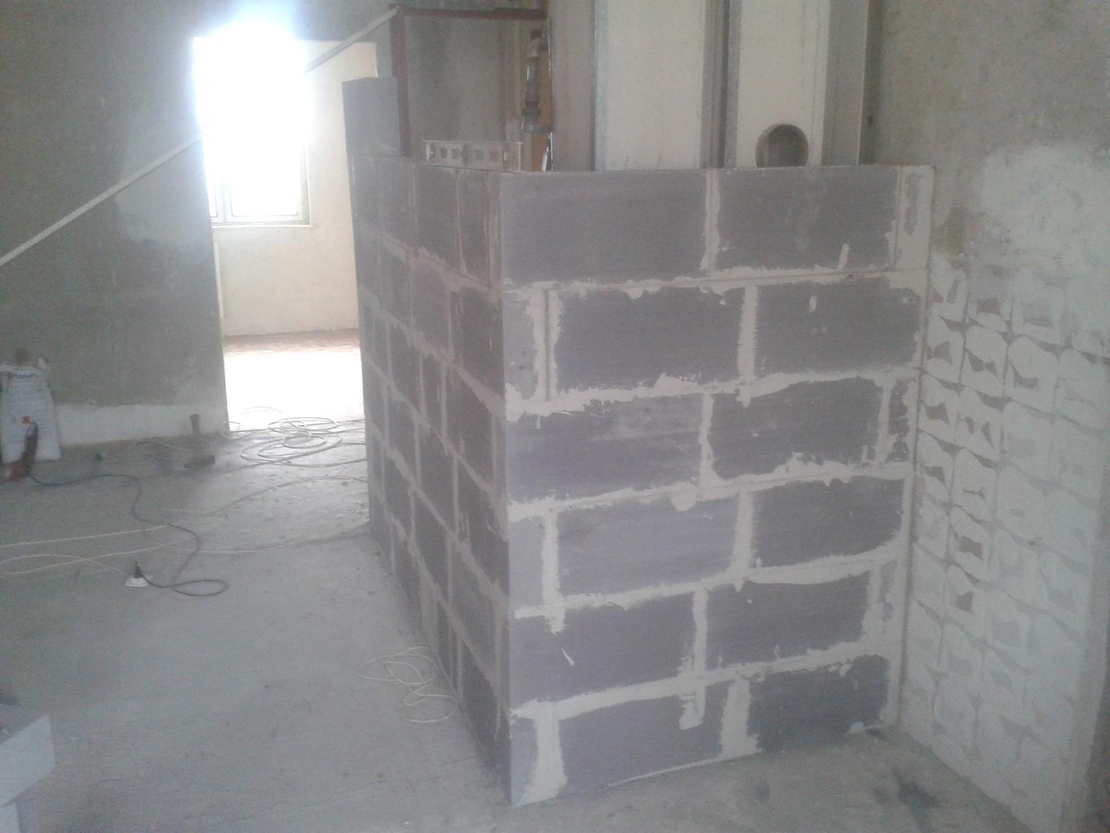 Prerábka bytu - murovka nového jadra