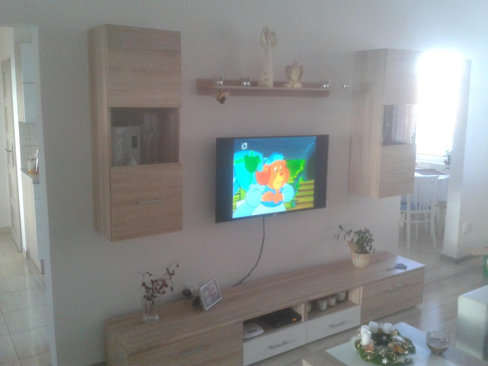 Prerábka bytu - obývačka teraz