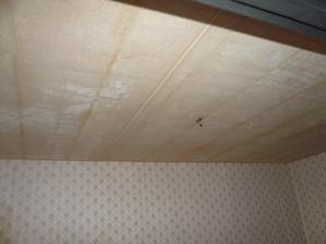 strop obývačka....