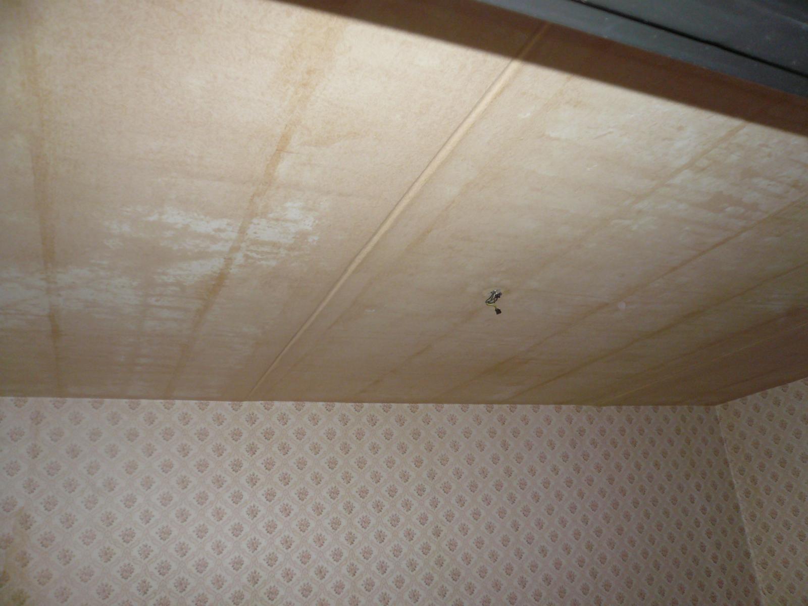 Prerábka bytu - strop obývačka....