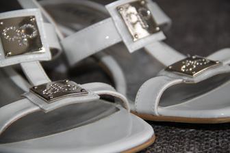 moje letní svatební sandálky, pohodlný