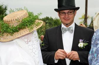 Ani 2. falešná nevěsta se mu nelíbila :-D