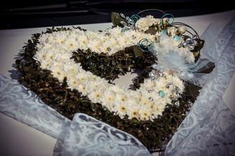 Výzdoba svatebního auta nevěsty
