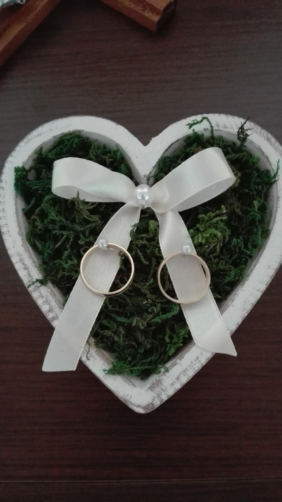 Srdiečko na prstene - Obrázok č. 1
