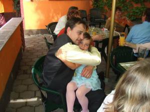 Eliška s Martinem