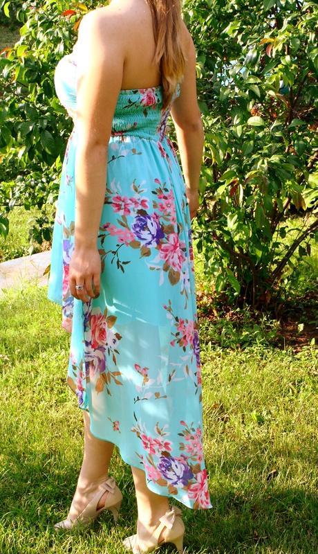 Spoločenské šaty vpredu krátke vzadu dlhé - Obrázok č. 3
