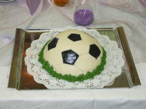 pro manžílka fotbalistu nesměl chybět:-)